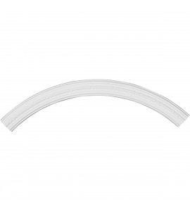 "EM-CR40MD - 40 3/8""OD x 35 1/2""ID x 2 1/2""W x 3/4""P Medea Ceiling Ring (1/4 of complete circle)"