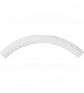 "EM-CR46JA - 45 1/2""OD x 39 3/8""ID x 3 1/8""W x 1/2""P Jamie Ceiling Ring (1/4 of complete circle)"