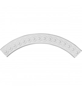 "EM-CR29HI - 28 3/4""OD x 23 5/8""ID x 2 5/8""W x 5/8""P Hillsborough Ceiling Ring (1/4 of complete circle)"