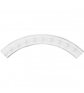 "EM-CR36HI - 35 1/2""OD x 29 1/2""ID x 3""W x 1""P Hillsborough Ceiling Ring (1/4 of complete circle)"