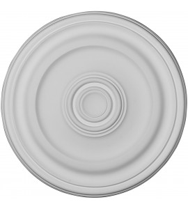 """EM-CM16KP - 15 7/8""""OD x 1 1/2""""P Kepler Traditional Ceiling Medallion (For Canopies up to 3 3/4"""")"""
