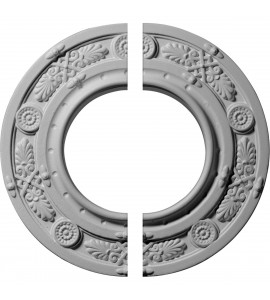"EM-CM08DN2 - 8""OD x 3 7/8""ID x 1/2""P Daniela Ceiling Medallion, Two Piece (Fits Canopies up to 3 7/8"")"
