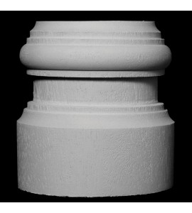 BASE-115 Profile Resin Columns Base