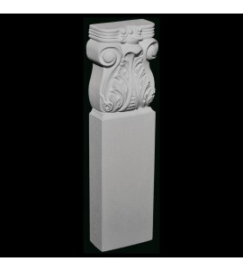 BASE-119 Series Acanthus Leaf Resin Columns Base