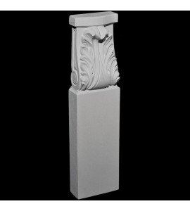 BASE-151 Series Acanthus Leaf Resin Columns Base