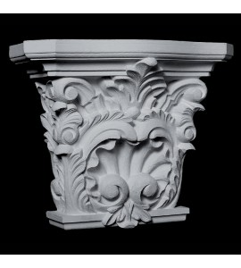 CAP-130 Series Acanthus Leaf and Shell Resin Capitol