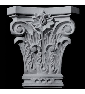 CAP-144 Series Corinthian Acanthus Leaf and Flower Resin Capitol