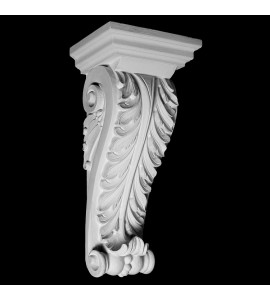CB-130 Series Acanthus Leaf with Beads Resin Corbel