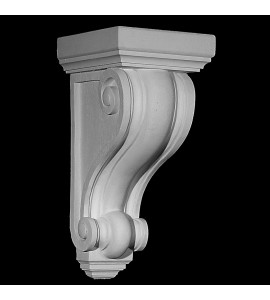 CB-307 Series Smooth Profile Concave and Convex Ridges Resin Corbel