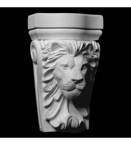 CB-313 Lion Face Resin Corbel