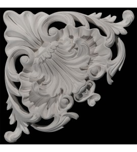 CE-200 Series Acanthus Leaf Resin Corner Element