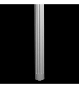 COLM-106 Series Flute Round Resin Column