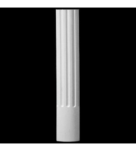 COLM-114 Series Radius Front Concave Fluted Resin Column