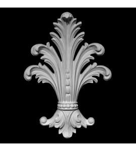 CP-137 Acanthus Leaf Resin Centerpiece