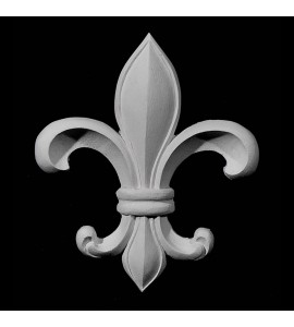 CP-143 Series Fleur De Lis Resin Centerpiece