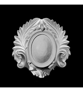 CP-215 Shield and Acanthus Leaf Resin Center