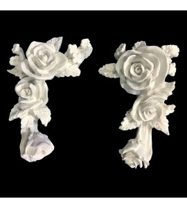 DC-193 Series Floret Resin Deco