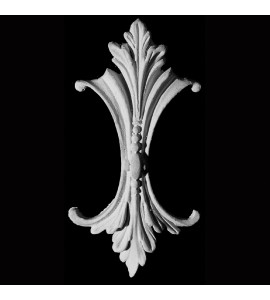 DC-100 Series Acanthus Leaf and Beads Resin Deco Clavo