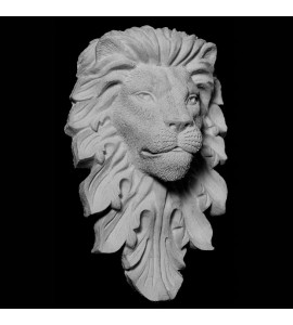 FACE-132 Series Resin Lion Face