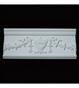 FRZ-101 Cups and Florets Resin Frieze Moulding