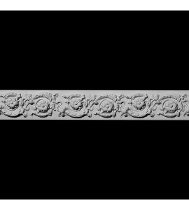 FRZ-110 Floral Leaves and Vine Resin Frieze Moulding