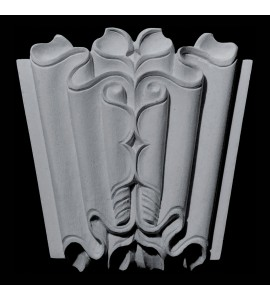 KS-106 Series Linenfold Resin Keystone