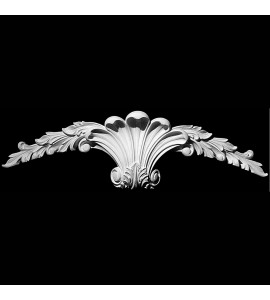 KS-107 Series Acanthus Leaf Shell Resin Keystone