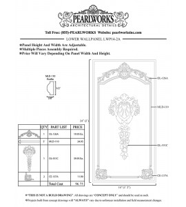 LWP014-2A Lower Wall Panel