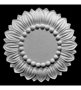 MD-109 Sunflower Resin Medallion