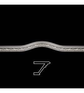 MLD-214TS Series Acanthus Leaf Curved Crown Moulding Trevor Resin Collection