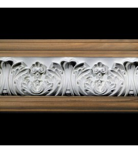 FRZ-406B Acanthus Leaf with Shells Resin Frieze Moulding