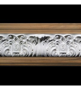 MLD-406C 6 Inch Width Acanthus Leaf and Scrolls Resin Moulding