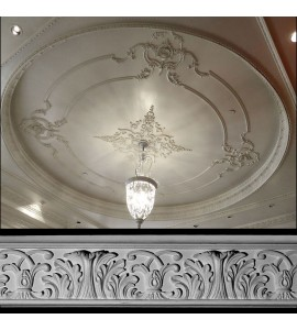 EASY CROWN DESIGN C Acanthus Leaf with Scroll Resin Moulding