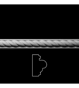 MLD-170 Twisted Rope on Base Resin Moulding