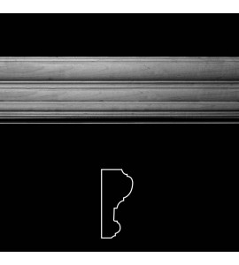 """MLD-183 3"""" Wide Hardwood Profile Moulding. Multiple Options Available"""