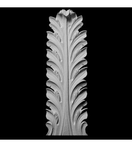 OL-140 Series Acanthus Leaf Resin Rosette