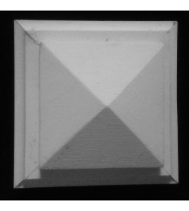 PB-100 pyramid Resin Plinth Block