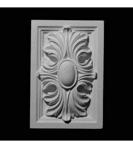 PB-281 Series Acanthus Leaf and Shield Resin Plinth Block