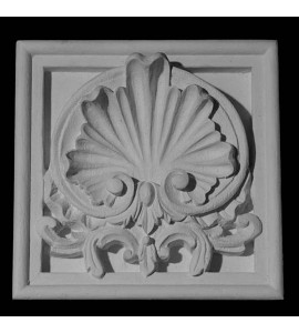 PB3-T Series Shell and Leaf Plinth Block Trevor Resin Collection
