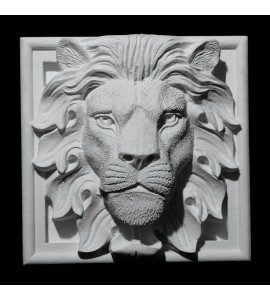 PB5-2 PB4-2 PB3-2 Series Lion Face Resin Plinth Block