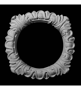 RING-102 Series Acanthus Leaf Recessed Resin Lighting Trim