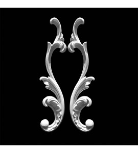 SCR-414 Acanthus Leaf Scroll Pair