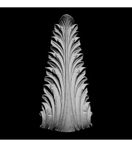 SP-100 Series Acanthus Leaf Resin Cabinet Corner Element