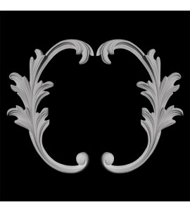 SW-139 Series Acanthus Leaf Resin Swag Pair