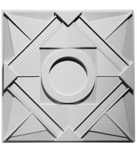 Deco 1 - Circle Ceiling Tile 2' x 2' AV-0026-TL