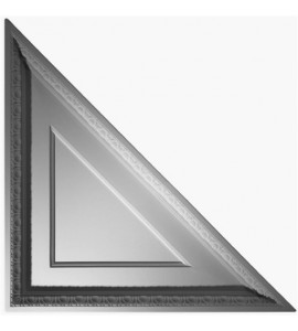 Coffered Egg & Dart Triangle Ceiling Tile 2' x 2' AV-0034-TL