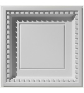 Coffered Dentil With Revealed Edge Ceiling Tile 2' x 2' AV-0059-TL