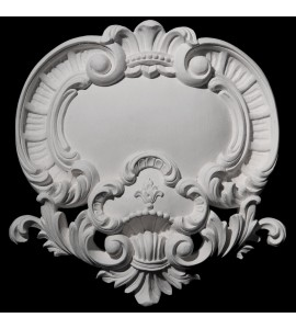 VC-100B Resin Shield and Acanthus Leaf  Versailles Ceiling Collection