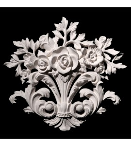 CP-202A Resin Flower and Acanthus Leaf Versailles Ceiling Collection